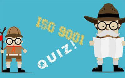 Quiz ISO 9001 version 2015 !